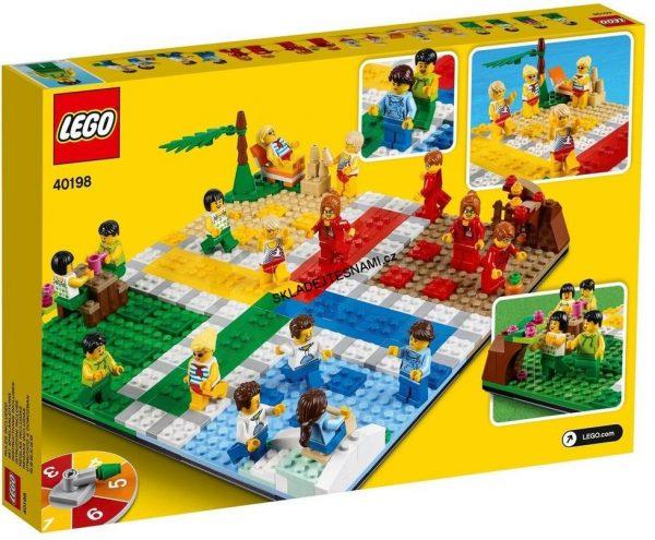 náhled 40198 LEGO LUDO GAME ČLOVĚČE NEZLOB SE