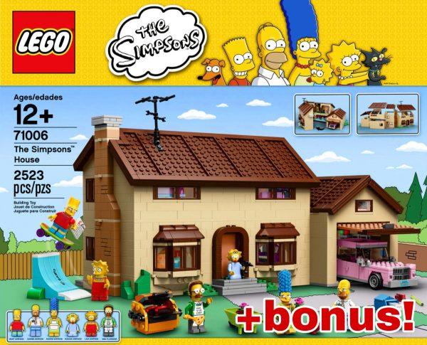 náhled Lego Simpsons house 71006+ 2 lego figurky ZDARMA