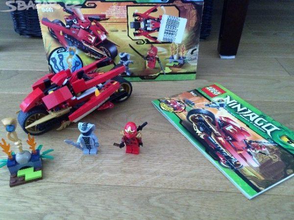 náhled Lego Ninjago 9441 Kaiova motorka s čepelemi
