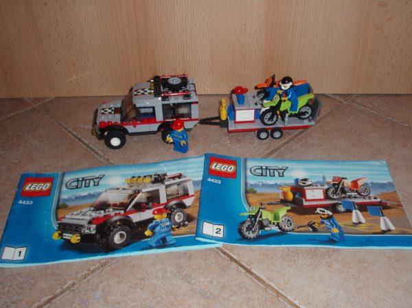 náhled Lego City 4433 Tahač na terénní motorky