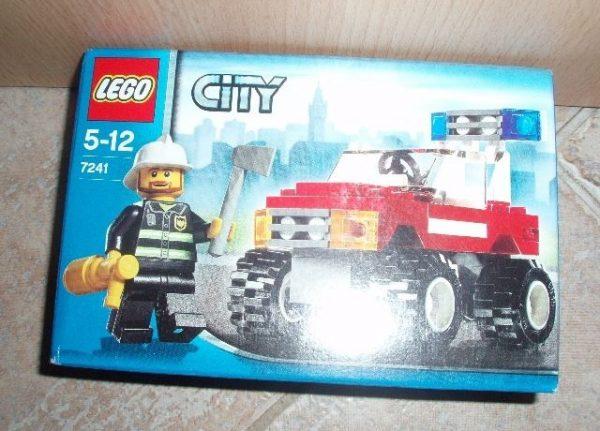 náhled NOVÉ ZBOŽÍ Lego City 7241 Velitelské auto hasičů