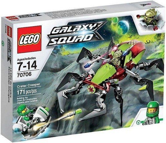 náhled Lego Galaxy Squad 70706 Úkryt v kráteru PC 599 Kč