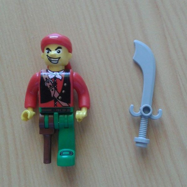 náhled Lego pirát