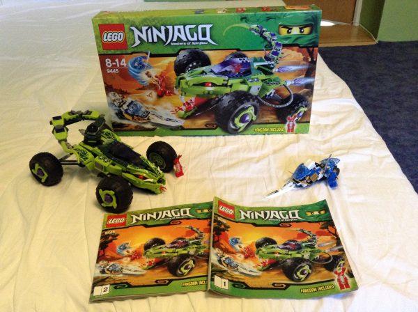 náhled Lego Ninjago 9445 Fangpyrova léčka