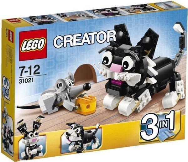 náhled KOUPÍM Lego Creator Chlupáči 31021  (Kočka a myš)