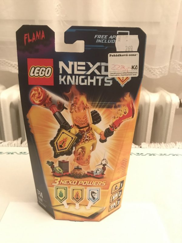 náhled Lego Nexo Knights 70339 Úžasný Flama