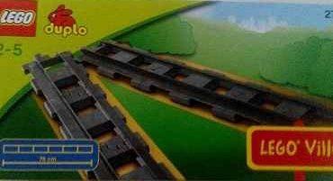 náhled Lego Duplo kolejnice