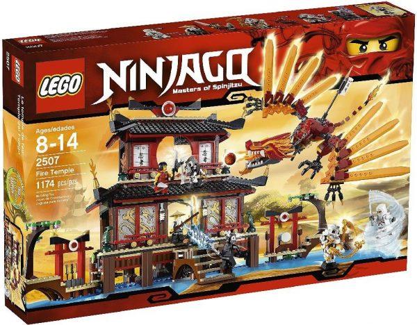 náhled Prodám nové zabalené Lego Ninjago Chrám ohně