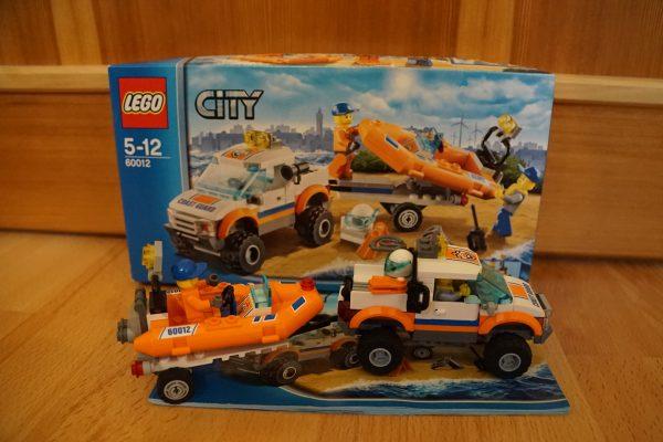 náhled Lego 60012 Džíp 4x4 a potápěčský člun