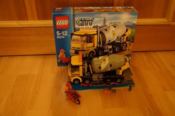 náhled LEGO 60018 Míchačka