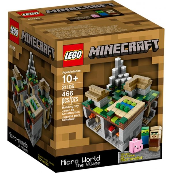 náhled Lego MINECRAFT 21105 Micro World The Village