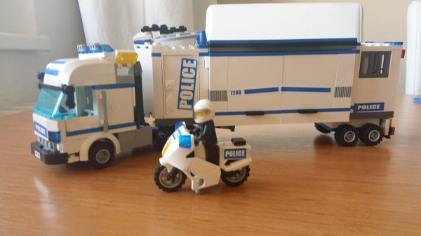 náhled LEGO CITY- pojízdná policejní stanice