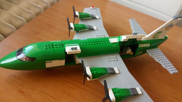 náhled LEGO CITY- nákladní letadlo