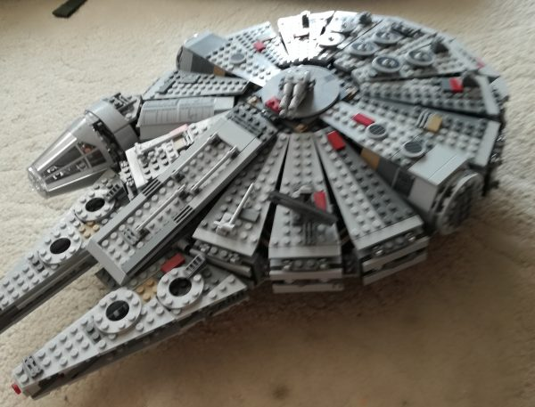 náhled Milenium falcon, X-wing, Fightet