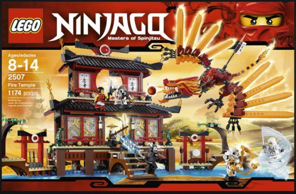 náhled Lego Ninjago 2507 Chrám ohně