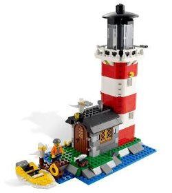 náhled LEGO Creator 5770 Ostrov s majákem,mořská restaurace... 3v1