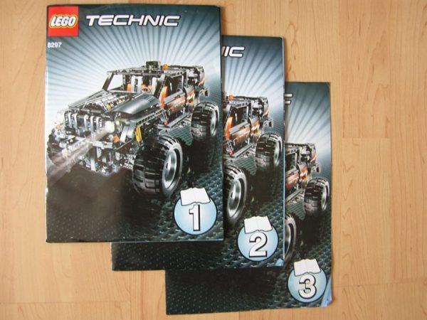 náhled Lego Technic, Terénní vozidlo - 8297