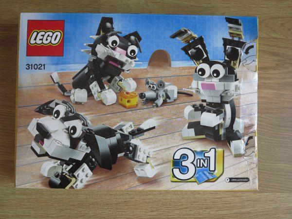 náhled Lego Creator Chlupáči 31021