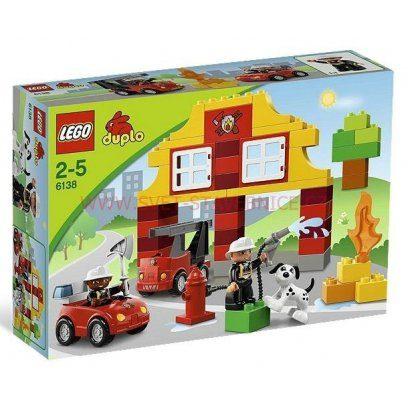 náhled LEGO DUPLO - Moje první hasičská stanice 6138