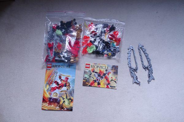 náhled LEGO Bionicle 70787 a 70783