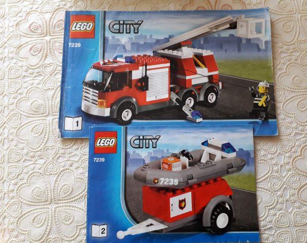 náhled Lego city hasiči