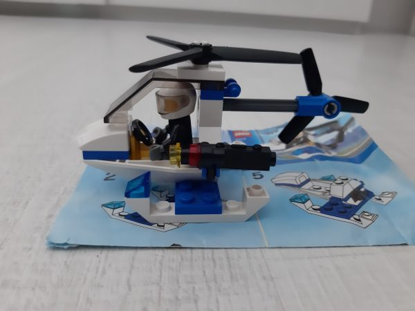 náhled Stavebnice Lego city policej. vrtulník+raketoplan