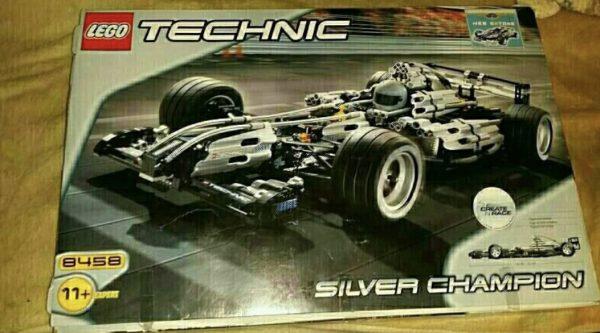 náhled lego technic 8458 s krabicí