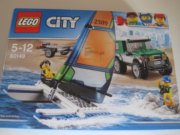 náhled Lego City 60149 s katamaránem