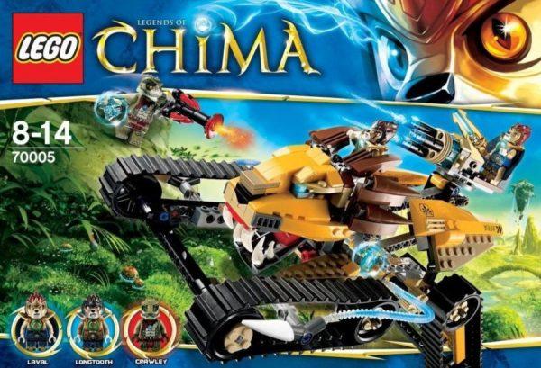 náhled LEGO 70005 CHIMA - Lavalův královský lovec