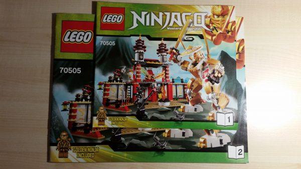 náhled Lego 70505 - NinjaGo - Chrám světla