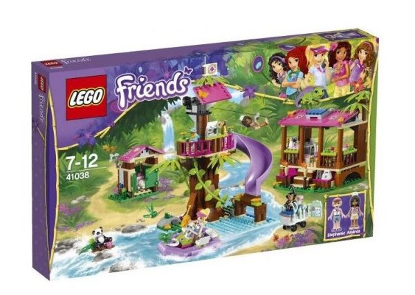 náhled Lego Friends 41038 Základna záchranářů v džungli