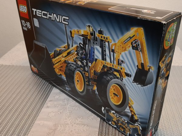 náhled LEGO Technic 8069 traktorbagr