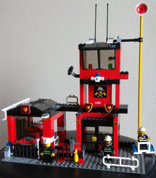 náhled LEGO city hasičská stanice 7240