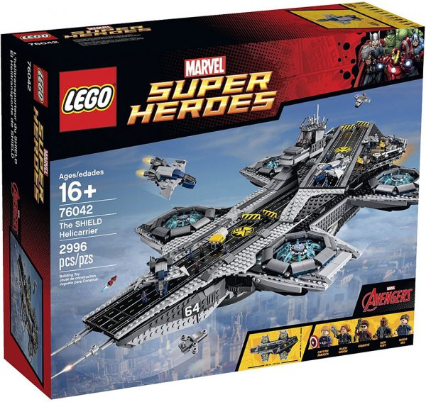 náhled Lego Super Heroes 96042 The Sheild Helicarrier