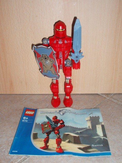 náhled Lego 8773 - Rytíř Santis