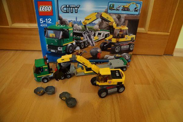 náhled LEGO 4203 Přeprava rypadla