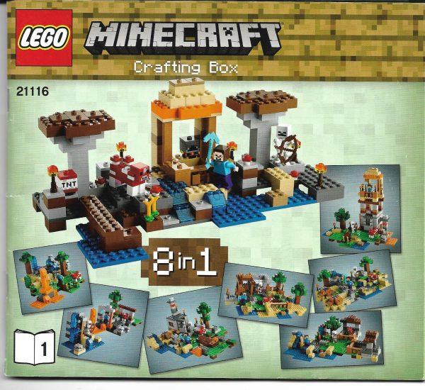 náhled LEGO MINECRAFT CRAFTING BOX 21116