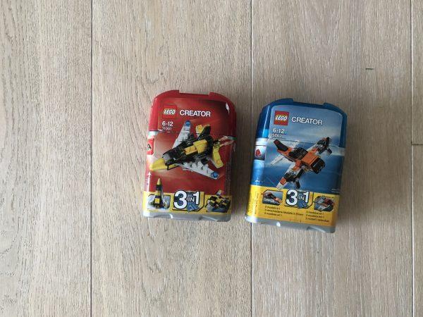 náhled Prodam 2 x Lego Creator 3 v 1 v praktickem baleni