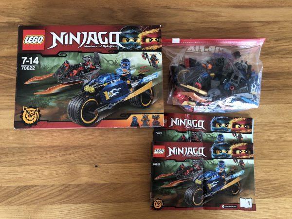 náhled Prodam Lego Ninjago 70622 Poustni blesk