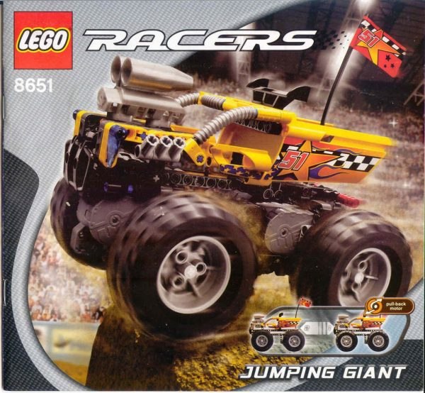 náhled Lego Racers 8651 Jumping giant